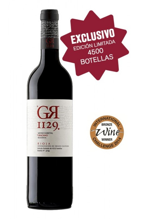 GR1129. Reserva - 100% Graciano